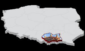 Mapa kiełbasy Małopolska