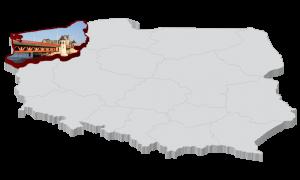 Polska Mapa Kiełbasy - Zachodniopomorskie
