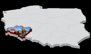 Polska Mapa Kiełbasy - Dolnośląskie