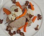 Polędwiczka wieprzowa z warzywami i kurkami