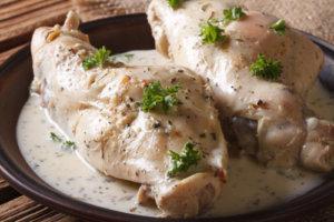 Dietetyczne białe mięso.