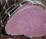 Pyszna szynka wołowa wędzona