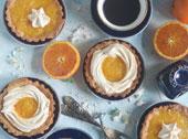 Mini Mazurki pomarańczowe