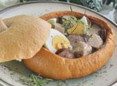 Wielkanocy żurek w chlebku