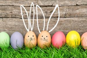 Wielkanocne wiejskie jaja
