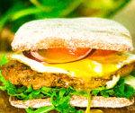 Burger z grilowaną karkówką