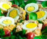 Jajka w mięsie mielonym
