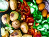 Sałatka z ziemniakami na grilla