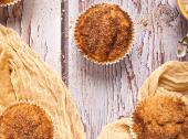 Muffiny a la pączki