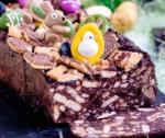 Wielkanocny blok czekoladowy
