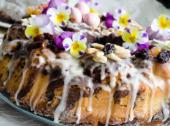 Babka drożdżowa z ciastem parzonym i kakao